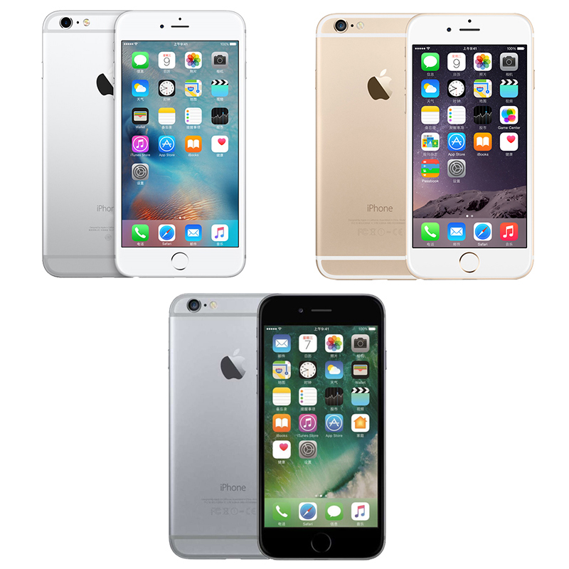 Image 2 - Original Apple iPhone 6 Plus Mobile Phone 16GB/64GB/128GB ROM 5.5 inch Screen Dual core 8MP Camera Fingerprint4G LTE Smartphone-in Cellphones from Cellphones & Telecommunications