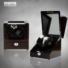 Deluxe Mens Watch winder JAPAN motor reel winder 2 Automatic watch chain winder Womens watch showcase