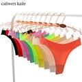 Venta caliente de la manera atractiva de las mujeres seamless underwear mujeres t bragas tanga resume la ropa interior de las mujeres tanga