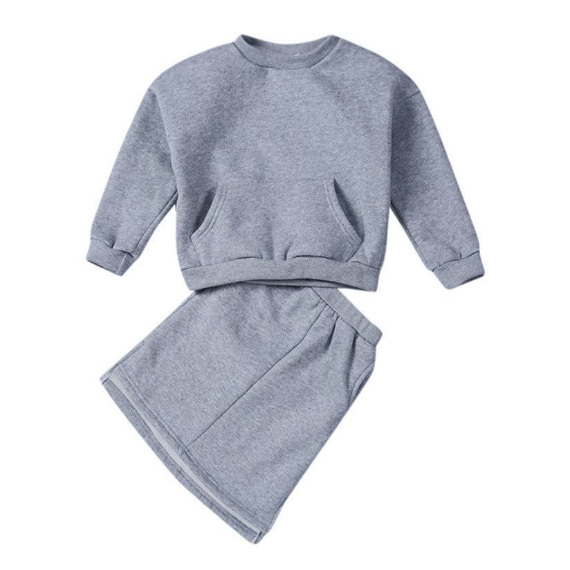Toddler Baby Kids Girls Tops Pullover Sweatshirt+Skirt Set Suit Clothes Outfits Princess Dress Fashion Cute Hot Selling Suits P7
