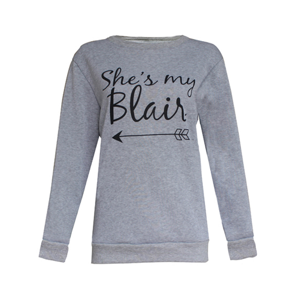 Designer Shes My Serena & Blair BFF Sweatshirts Best Friend Matching Pullover Tops Blouse Best friend clothing for girls womens