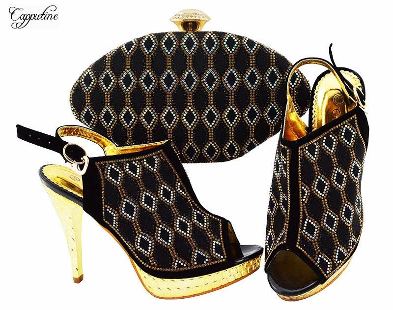 Mode Jzc003 Avec Partie Talons Mince À Soirée De Hauts Sac Ensemble Chaussures Strass Pour Royal Correspondant Bleu aq8r4a
