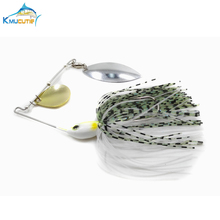 5pcs 20g Spinnerbait buzzbait lead head jig Rotating sequins fishing lures