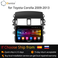 Ownice K1 K2 Octa Core Android 8,1 автомобилей Радио dvd плеер 2G Оперативная память 32G для Toyota Corolla 2009 2010 2011 2012 2013 поддержка 4G
