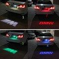 1 pcs CANBUS Do Carro Vermelho LEVOU Luz Da Placa de Licença 12 V LED Logo projeção Número Da Placa Da Lâmpada do laser Para BMW 3 Series 5 Series X1 X3 X5