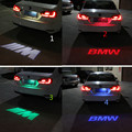1pcs CANBUS Red Car LED License Plate Light 12V LED Logo projection Laser Number Plate Lamp For BMW 3 Series 5 Series X1 X3 X5
