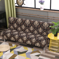 Dreamworld Elastic Sofa Bed Cover Stretch Sofa Bed Covers for Living Room 2 and 3 Seater Sofa Cover Universal Seat Cover