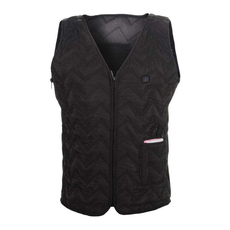 <font><b>heating</b></font> vest with <font><b>battery</b></font> winter Skiing <font><b>clothes</b></font> men vest to keep warm charging China factory production size s-xl