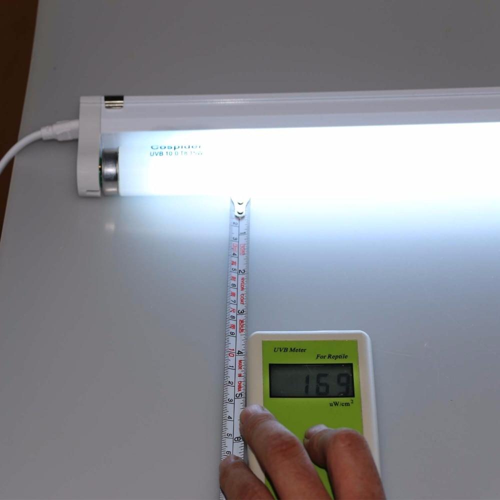 UVB 5.0 Sürüngen Vivaryum Floresan lineer tüp Işık Lamba Ampul T8 15 W 18 inç bi-pin Kalsiyum kaynağı için UV UVA UVB 10.0