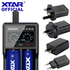 XTAR VC2S VA LCD Screen Micro USB Powered Portable Power Bank Charger Apply To 3.6V/3.7V Li ion/IMR/INR/ICR 26650 18650 Charger