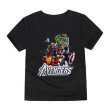 Boys Avengers Short Sleeves T-Shirt