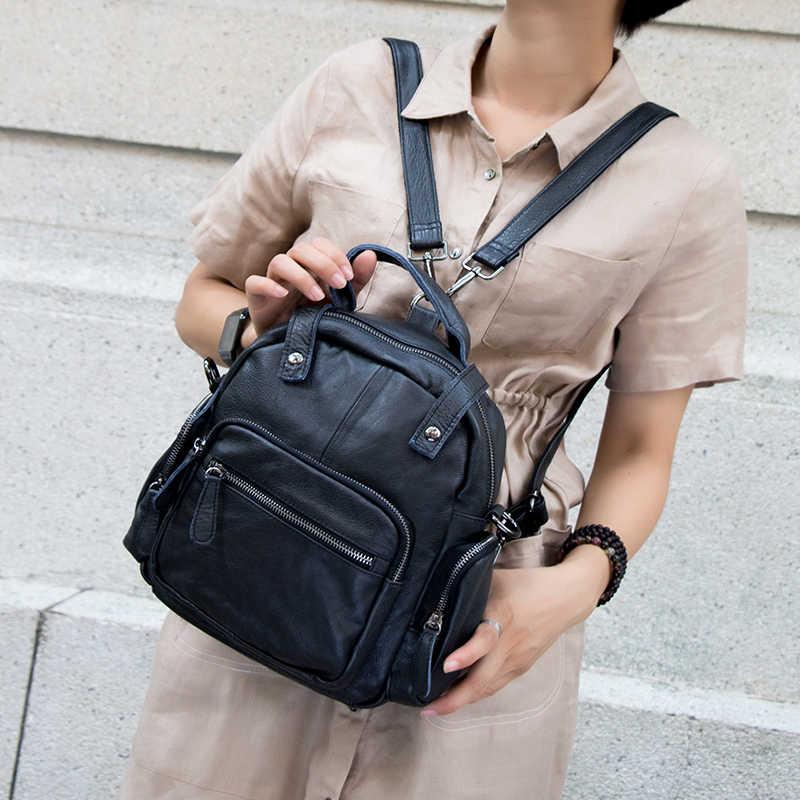 Lady Multifunções Mochila de Marca Famosa Designer de Mulheres Mochila Meninas Escola de Couro Ombro Crossbody Sacos Para As Mulheres