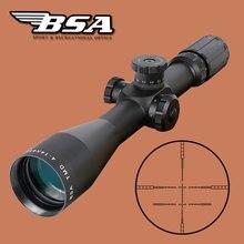 BSA TMD 4-14X44 FFP Chasse de Tir Premier Plan Focal Verre Mil Dot Réticule Tactique Optique Sight avec Hauteur Et En Dérive Serrure