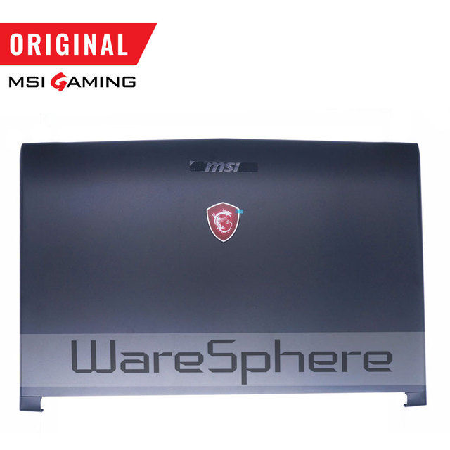 New Original LCD Back Cover for MSI GL72 GP72 MS 1793 Top Rear Lid Case 307793A211P89 307 793A211 P89 Black