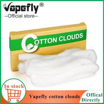 Organic Vapefly cotton clouds DIY Vape accessories for E cigarette RDA RTA Tank cotton vs firebolt cotton for galaxies RDTA
