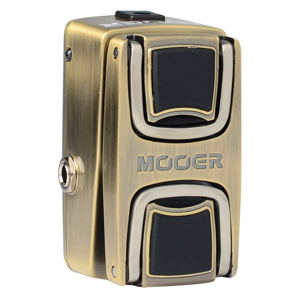 Mooer The Wahter Wah Effects Electric Guitar Effect Pedal Classic Wah Tone Dual Activation Methods Solid and Durable odeon light flo 2757 10