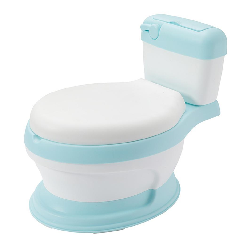 New Children Boys and Girls Simulation Shape Toilet Training Indoor, Outdoor, Travelling so on. Baby Toilet