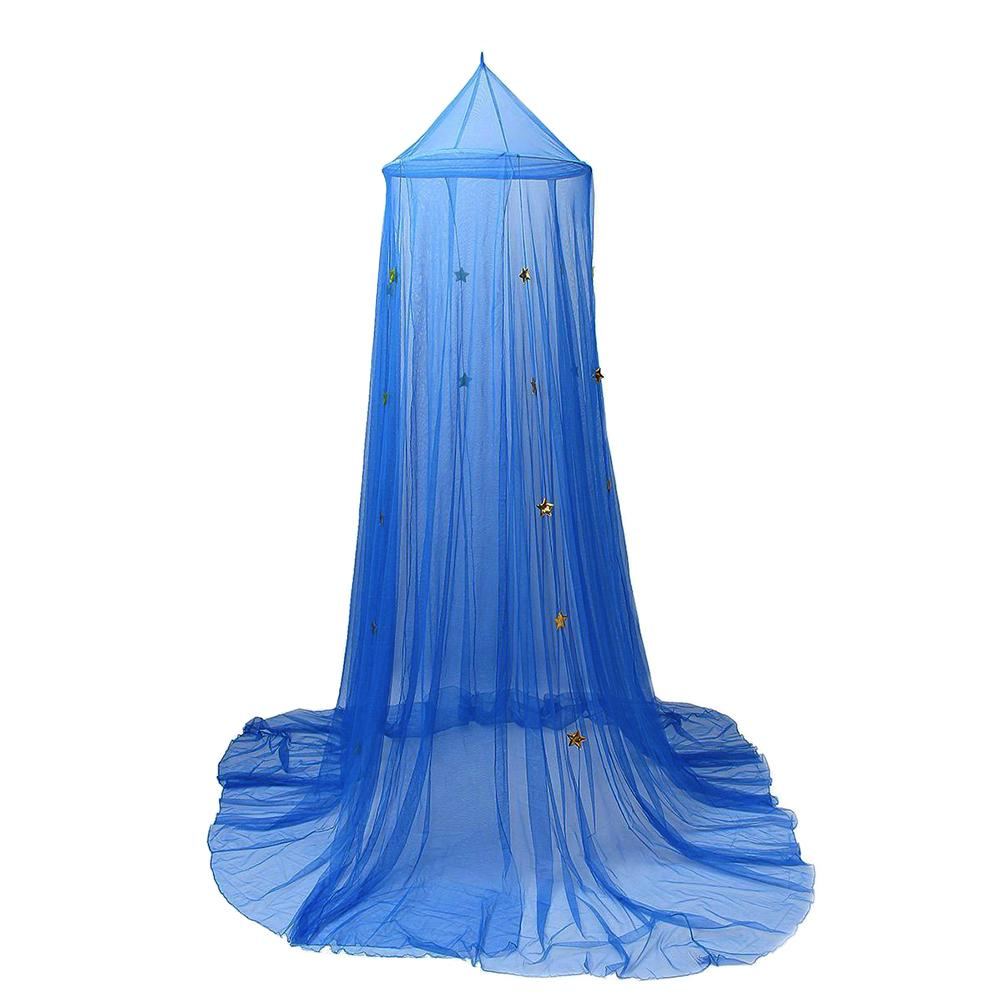 Well-Educated Hot Sale Kid Baby Canopy Bed Cover Mosquito Net Curtain Bedding Round Dome Tent Cotton Crib Netting Baby Bedding Cover Mosquito Crib Netting