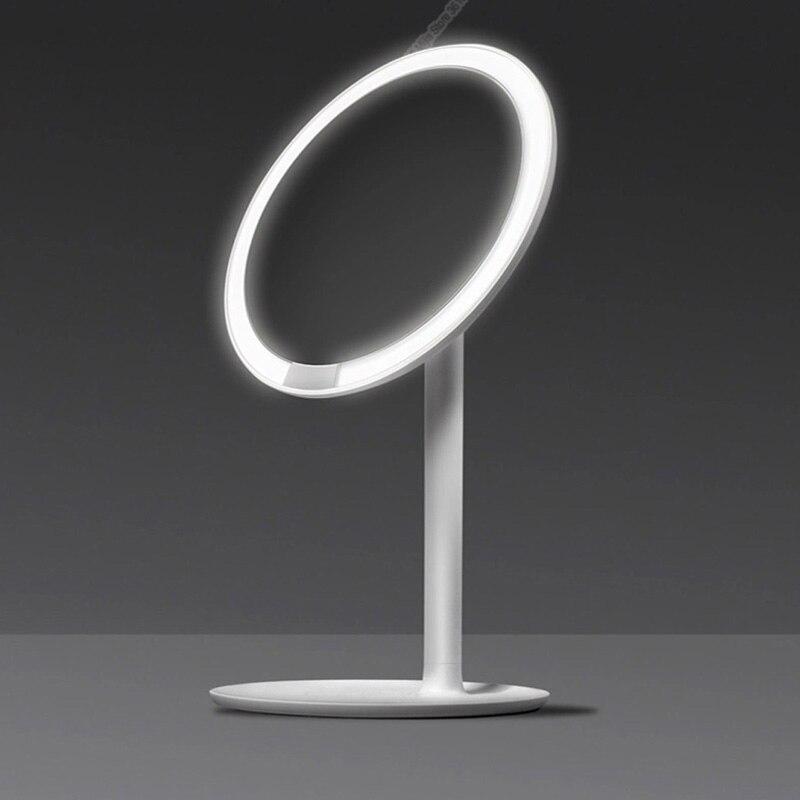 Xiaomi Mijia AMIRO HD espejo regulable ajustable encimera 60 grados giratoria 2000 mAh luz diurna maquillaje cosmético Led espejo 2 - 3