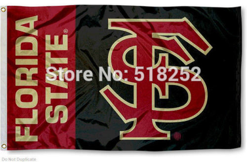 FSU Seminoles Flag 3x5 FT 150X90CM Banner 100D Polyester flag brass grommets 107, free shipping