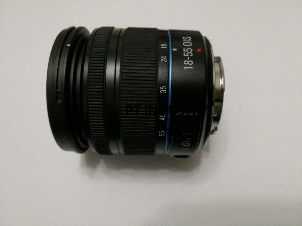 Original 18 55mm F3 5 5 6 OIS III Black Zoom Lens For Samsung NX20 NX100