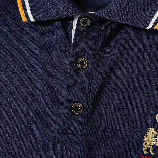 Nouvelle marque POLO chemise hommes boutique broderie respirant à manches courtes décontracté Polos hommes homme grande taille 6XL 7XL 8XL vêtements 2