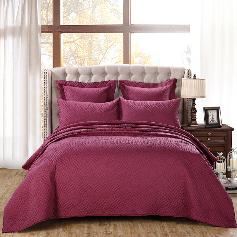 Cotton Quilted Bedspread King Size Bedding Set Quilt Throw Blanket Bed Cover For Bed Set Sofa Cover Colchas Para Cama Couvre Lit