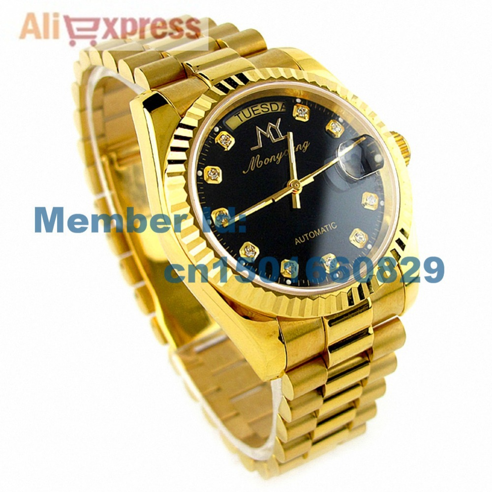 mens real gold watches best watchess 2017 factory er luxury new in box quality 18k solid gold watch