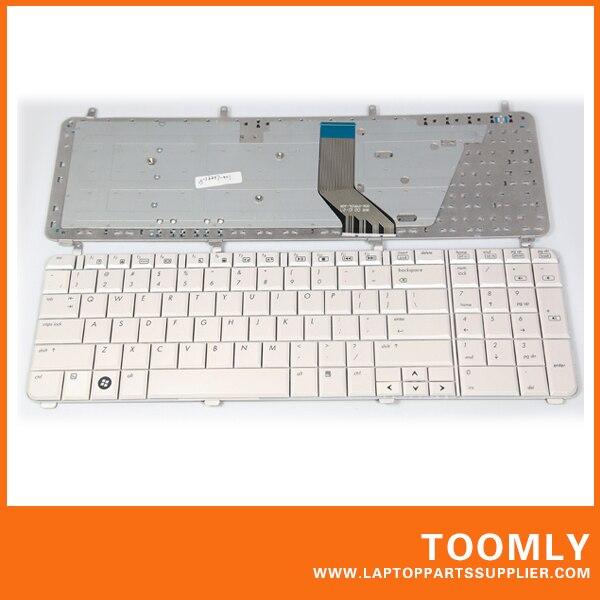 New original laptop Keyboard for HP Pavilion dv7 dv7 - 1000 dv7-1100 US version free shipping