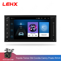 car Android 8.1 multimedia for toyota corolla 2 Din Universal car radio with navigation Bluetooth Wifi car stereo gps player