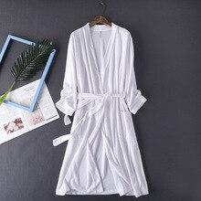 Terry Bath Robe Autumn Bathrobe Dressing Gowns for Women Cotton Dress Plush Bathrobes Bridal Bridesmaid White Kimono Robes