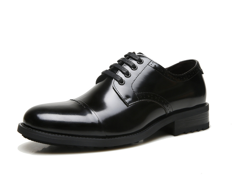 ECCO Brand New Arrival Fashion Men Shoes Party and Wedding Men Dress Shoes Black Formal Male Oxford Shoes 623535 6