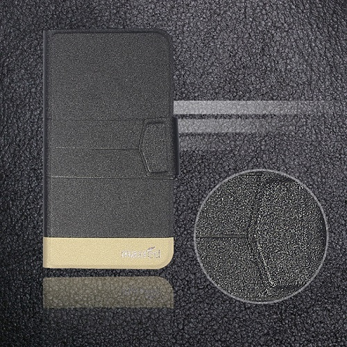 5 цветов хит! Кожаный чехол для телефона Digma LINX Atom 3g, заводская цена, защитный полностью откидной кожаный чехол с подставкой для телефона s - Цвет: Black