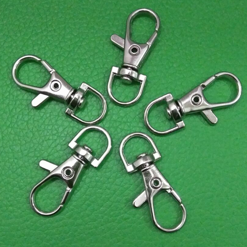 5PCS EDC Spring Buckle Carabiner Backpack Clasp Hook Clip Outdoor Camping Hiking Accessories
