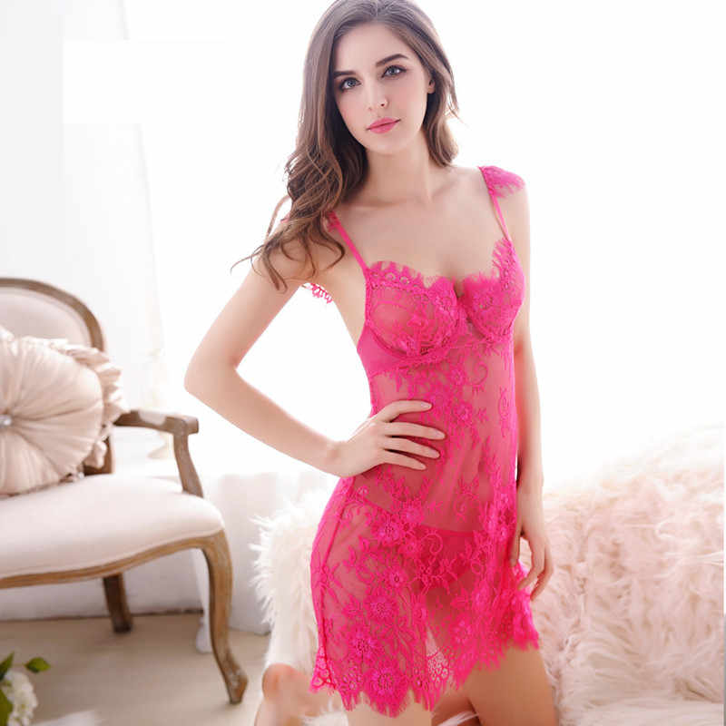 0c4445336 ... Lace nightgowns women nightwear sleepwear dress nighties for women  sleeping dress women night dress sleepwear sexy ...