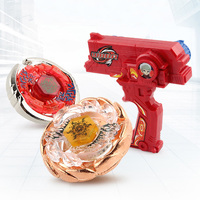 Beyblade Metal Gyro Burst 4D Launcher Set Spinning Top For Children Christmas Gift Finger Hand Spiners