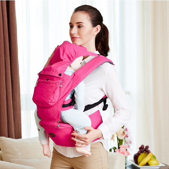 16 Multifunctional Infant Breastfeed Sling Mochila Epp Wrap Carrier Baby Canguru Backpack 0-3 Yrs Breathable Cotton Hipseat