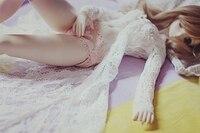 1/3 bjd bebek giysileri SD elbise silikon doll 65 CM giysi etek takım nokta EU05