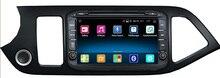 Android 5.1 Quad Core Lecteur DVD de Voiture pour Kia Matin kia Picanto VOITURE Radio gps 3g/WIFI RDS OBD HD 1080 P Livraison gratuite
