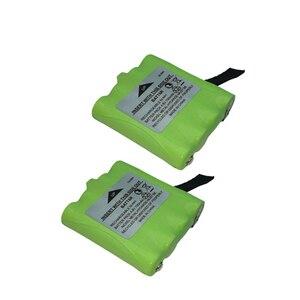 2PCS BATT6R BATT-6R 4.8V 700MAH NI-MH Rechargeable 2 Way Radio Battery for Midland BATT6R BATT-6R(China)