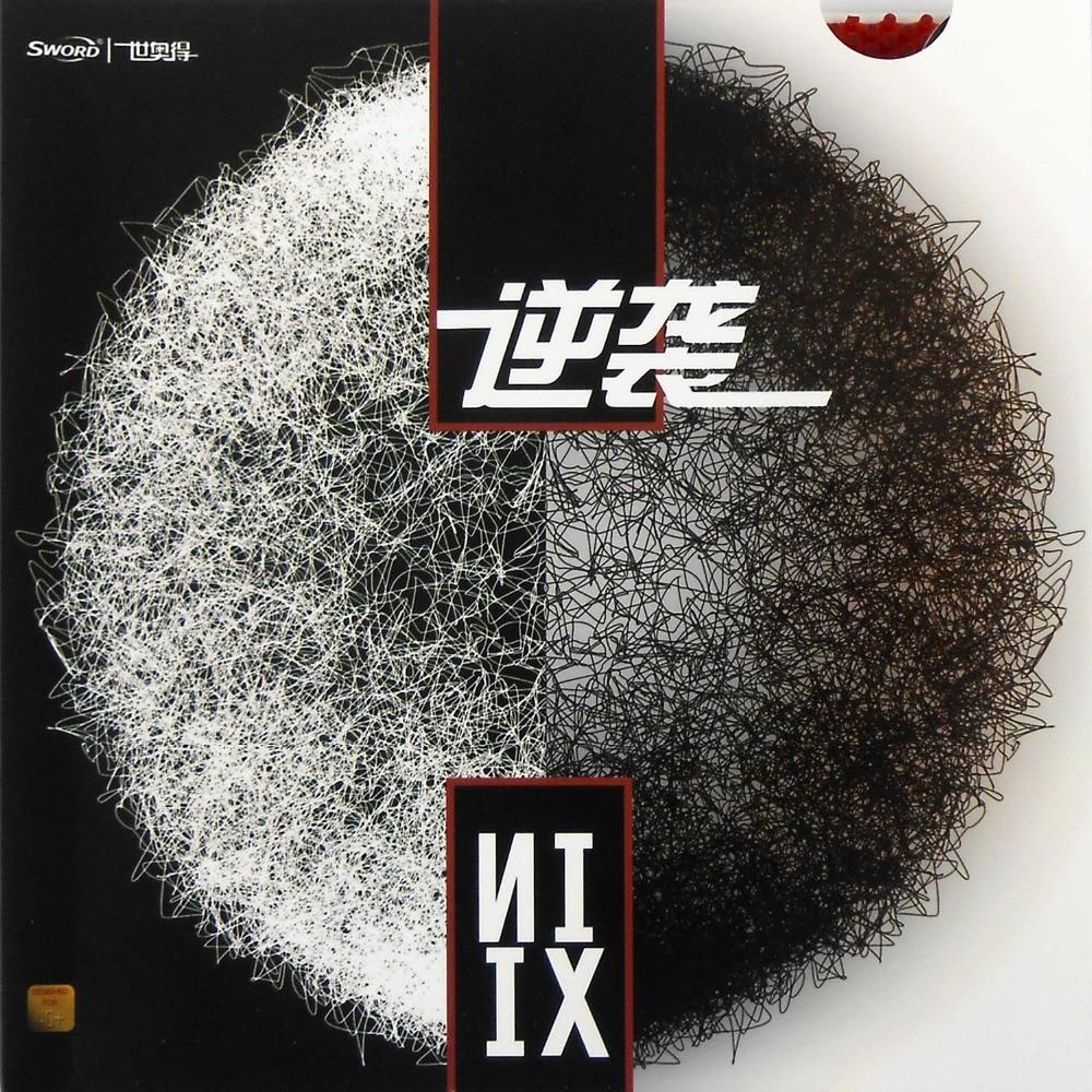 Original Sword NIXI Table Tennis Rubber Long Pips Out Top Sheet (OX , No ITTF)