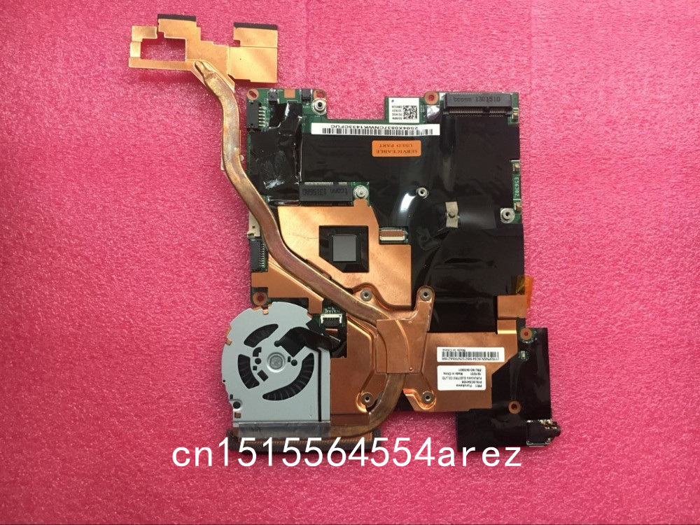 Original laptop Lenovo ThinkPad X1 Helix motherboard mainboard i7-3667 CPU W8P with fan FRU 04X0837 цена