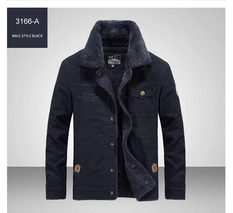 HTB1Q1Wta7T2gK0jSZPcq6AKkpXat FGKKS Winter Men Jacket Men's Fashion Fleece Fur Collar Jackets Male Tactical Mens Warm Jackets Coats