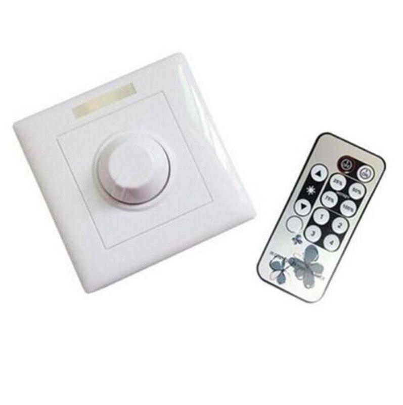 AC85-265V 300 W 8A IR LED de contrôle variateur de lumière réglable E14 E27 GU10 Dimmable Spot lumières Downlights bougie lumières