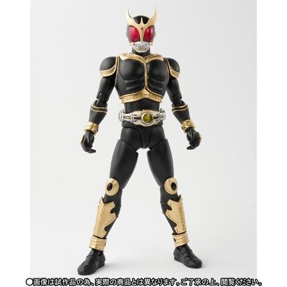 Original BANDAI Tamashii Nations SHF S.H.Figuarts Exclusive Action Figure - Masked Rider Kuuga Amazing Mighty