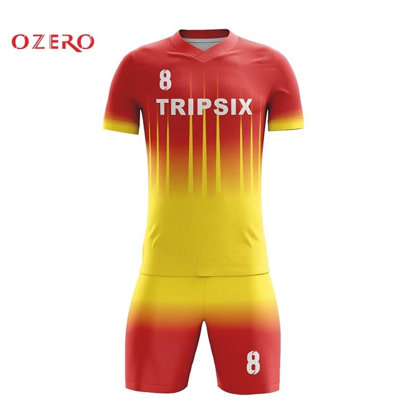 diy soccer jersey,top quality yellow soccer shirt,cheap football uniform