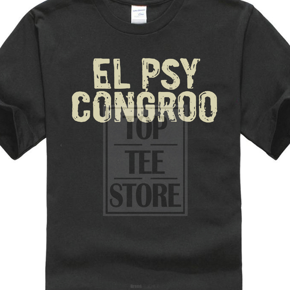 T-shirts New Steins Gate El Psy Congroo Anime Logo Mens Black T-shirt Size S To 3xl Back To Search Resultsmen's Clothing