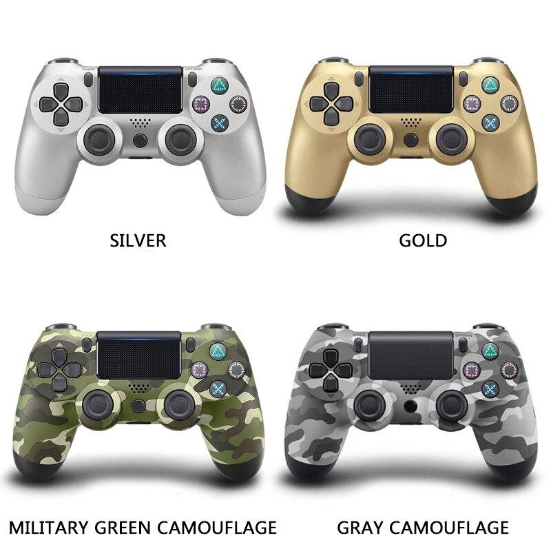 Gamepads contrôleur bluetooth Pour SONY PS4 Gamepad Pour Play Station 4 Joystick console sans fil Pour PS3 Pour Dualshock Controle