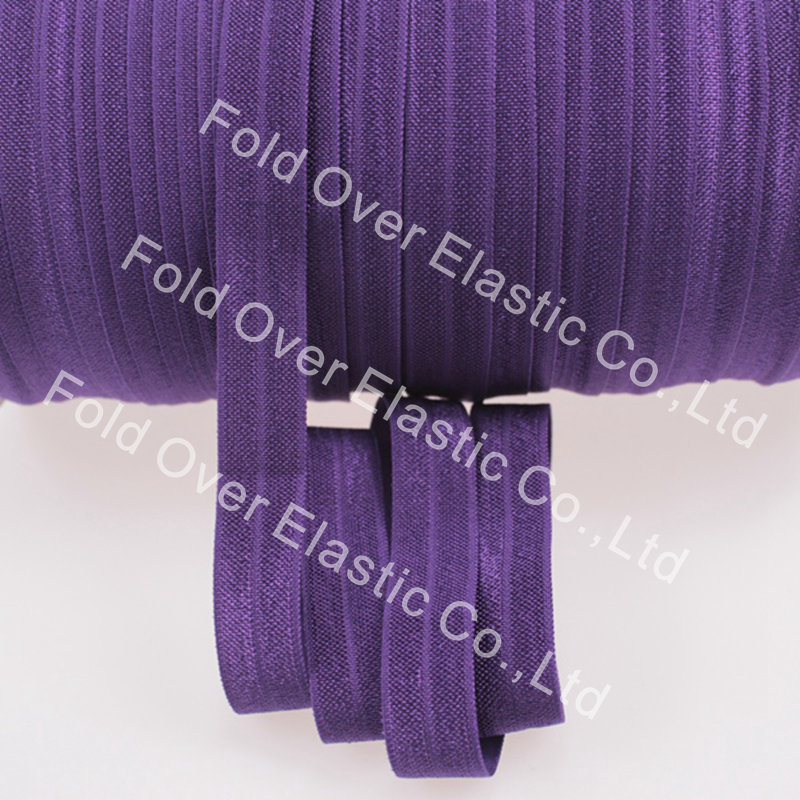 Solid color foe elastic 285 plum plain color fold over solid color foe elastic 285 plum plain color fold over elastic100yards free shipping fandeluxe Image collections
