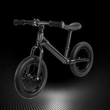 df5e73d94d9055 12 pollici In fibra di Carbonio Telaio Della Bicicletta equilibrio Per 2 6  Anni di Età Bambino di carbonio